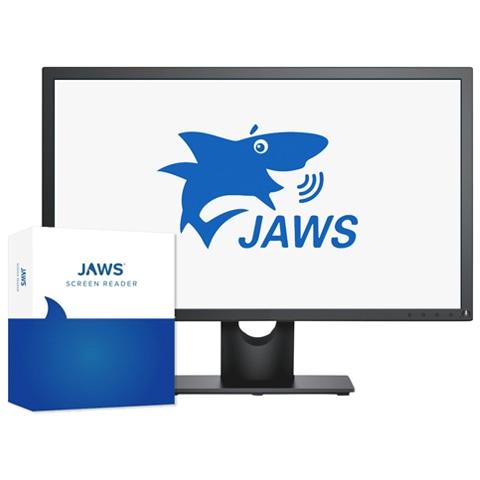 photo of the JAWS shark logo